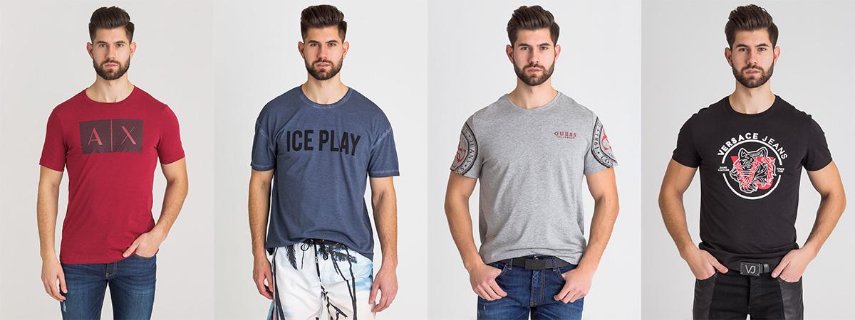 Najmodniejsze t shirty męskie na sezon wiosna lato 2018