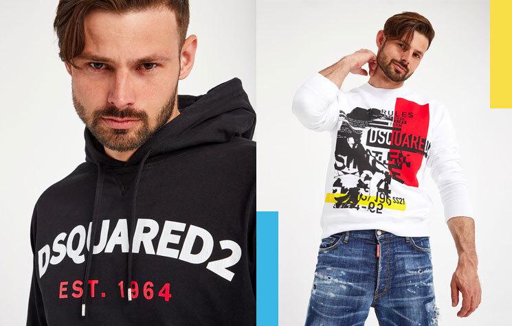 DSQUARED2 luksusowa moda dla mężczyzn