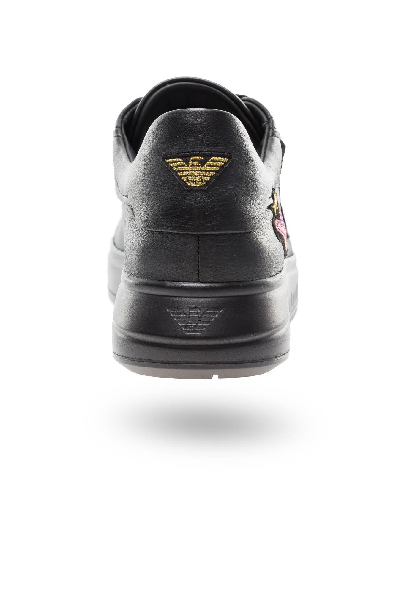 Czarne Sneakersy Emporio Armani Marki Premium W Sklepie Velpa Pl