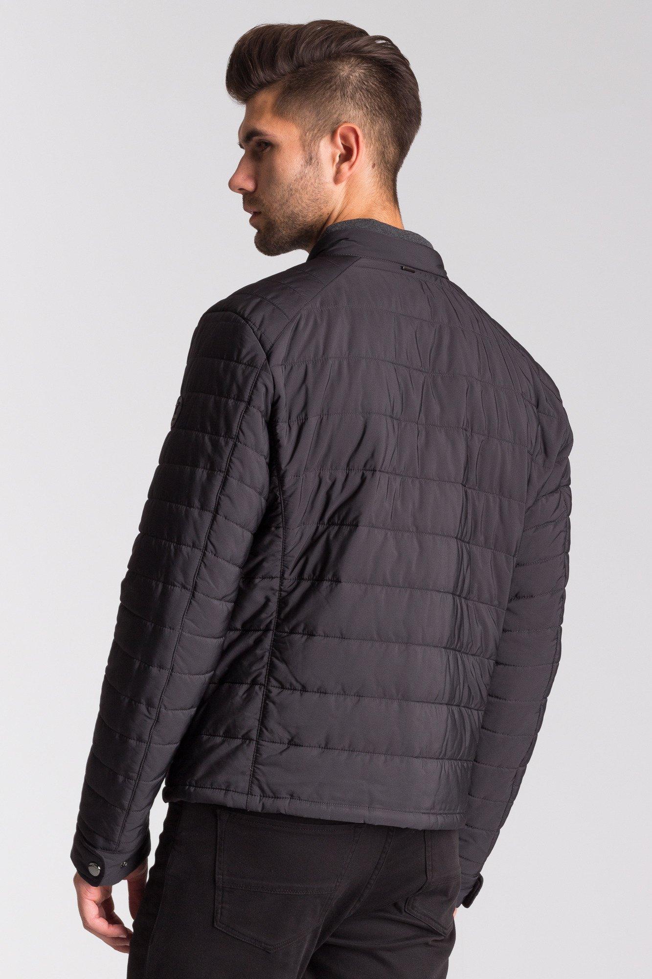 Czarna pikowana kurtka Joop! Collection