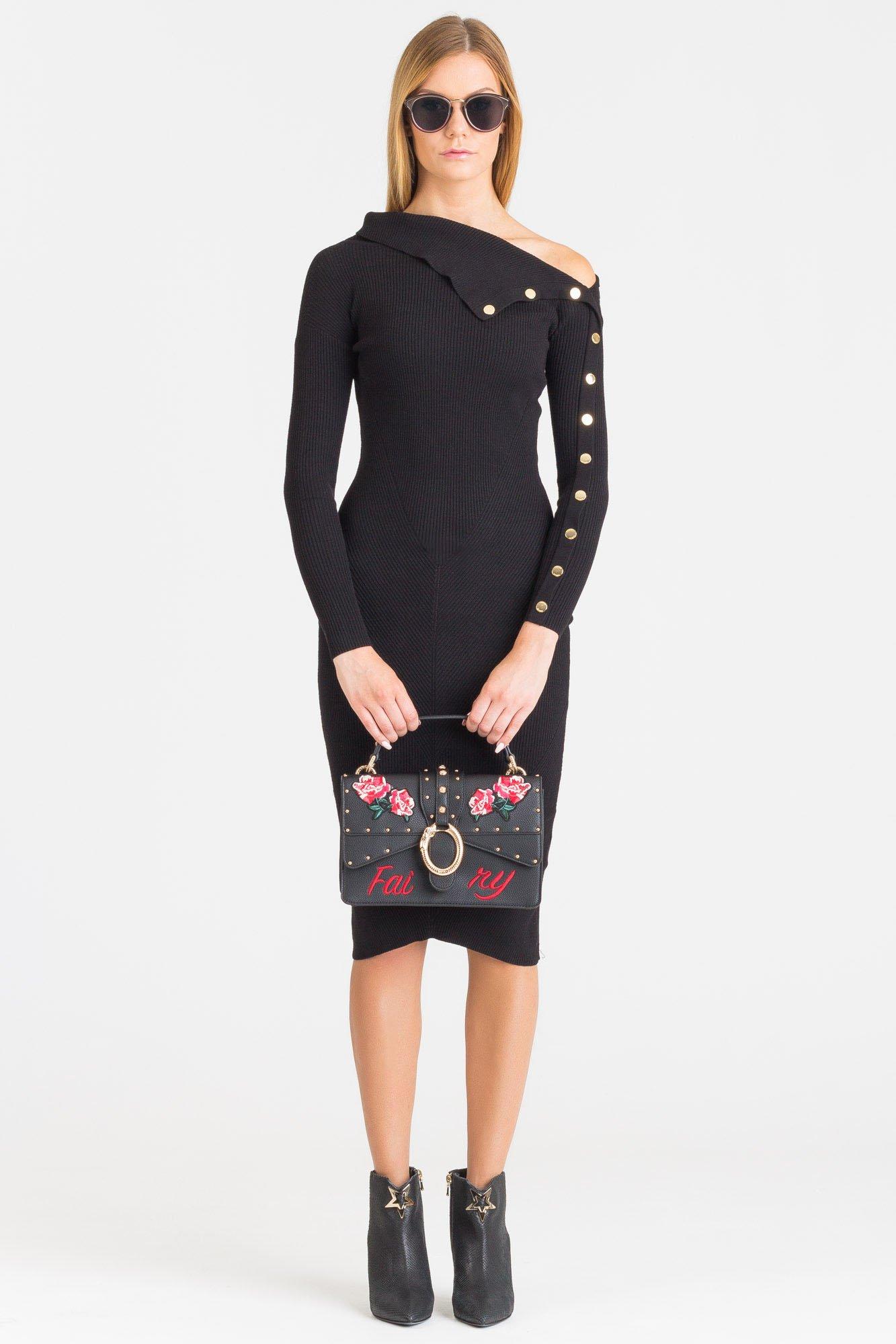 Czarna sukienka Guess