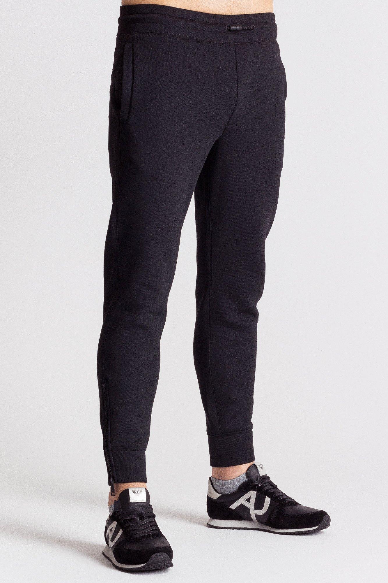 ... 06d7dee0119f Czarne męskie spodnie dresowe Markowa odzież w sklepie  Velpa.pl 6aea34ade3d