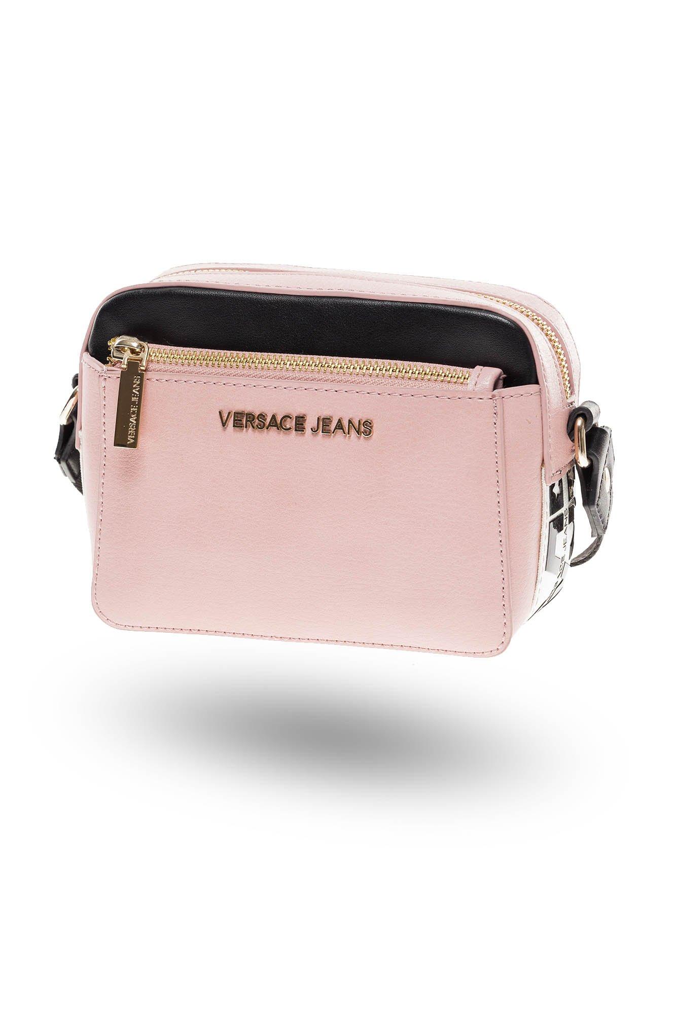a8167351ba735 Różowa listonoszka Versace Jeans  Różowa listonoszka Versace Jeans ...