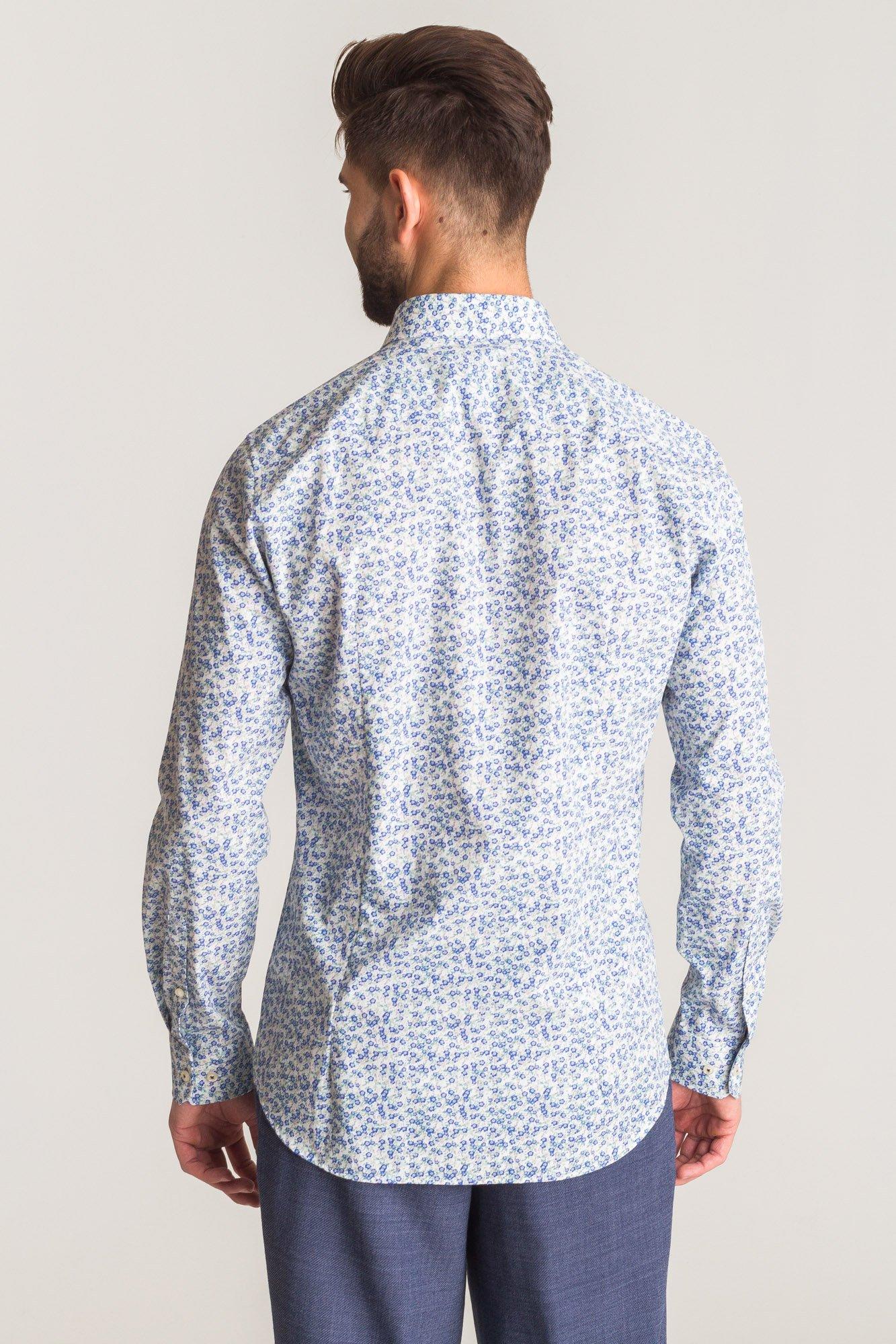 Wielokolorowa koszula Joop Panko w kwiatowy wzór